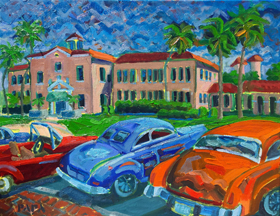 Cars at the Delray Affair