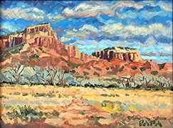 Hills at Ghost Ranch